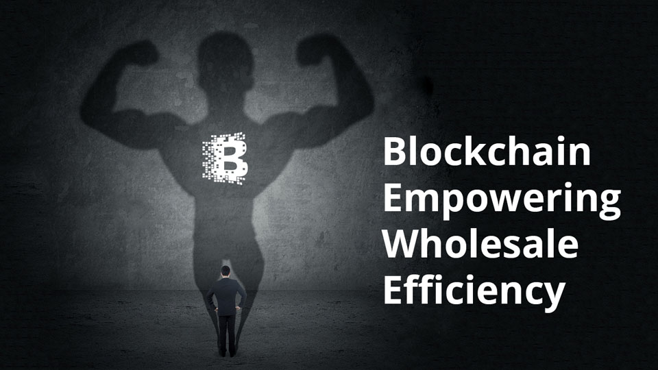 Blockchain and wholesale