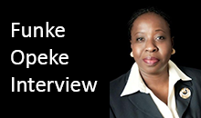 Funke Opeke Interview