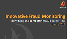 Fraud Monitoring Innovation